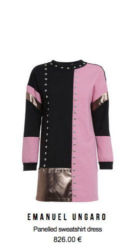 emanuel_ungaro_panelled_sweatshirt_dress_ikrix_shop_online.jpg